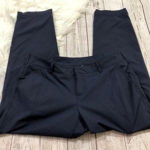 Kirkland ladies navy blue travel pants size 6